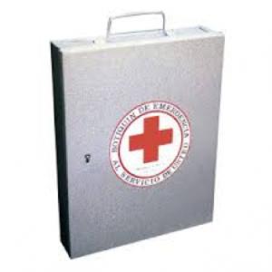 botiquin de primeros auxilios metalico