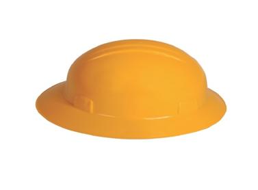 casco de seguridad con ala