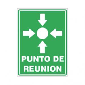 letrero punto de reuinion