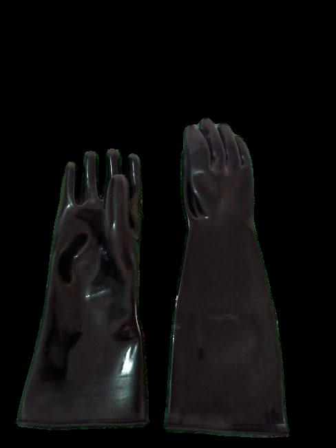 Guantes para hule negrego